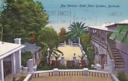 Bermuda New Windsor Hotel Palm Gardens 1930 - Bermudes