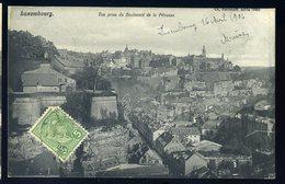 Cpa Du Luxembourg -- Luxembourg Vue Prise Du Boulevard De La Pétrusse  JIP95 - Luxembourg - Ville