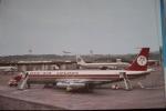 B 707   DAN AIR LONDON   G AZTG  PRESTWICK AIRPORT - 1946-....: Moderne