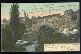 Cpa Du Luxembourg -- Luxembourg Les Rochers Du Boc - Bockfelsen  JIP95 - Luxembourg - Ville
