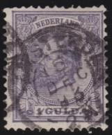 Nederland   .     NVPH   .    28      .    O          .          Gebruikt  .     /       .    Cancelled - Used Stamps