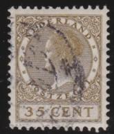 Nederland   .     NVPH   .      195         .    O          .          Gebruikt  .     /       .    Cancelled - Used Stamps