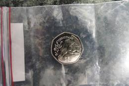 50 Pence Gibraltar Christmas 2015 - Gibilterra