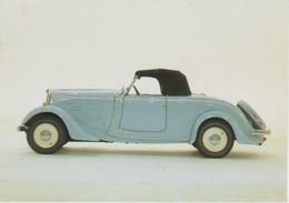 AUTOMOBILES : Peugeot Roadster 601 Année 1934 (Musée Peugeot De Sochaux) - Passenger Cars