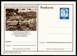 95727) BRD - Bildpostkarte P 81 - 38/293 - * Ungebraucht - 15Pf Luther - Braunlage Im Harz, Ortsansicht - [7] République Fédérale