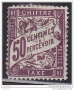 France 1895, Postage Due, 50c, Used - Postage Due