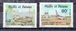 WALLIS ET FUTUNA  Timbres Neufs ** De 1979 (ref 4273 )  Transport - Bateau - Avion - Wallis And Futuna
