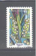 France Autoadhésif Oblitéré (Fleurs à Foison : Muguet) (cachet Rond) - France