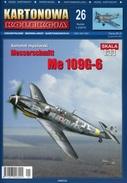 German WWII Fighter Messerschmitt Me 109G-6 - Paper Card Model Scale 1/33 - Paper Models / Lasercut