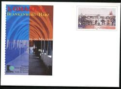 BUND USo27 Sonder-Umschlag KLOSTER MICHAELSTEIN BLANKENBURG ** 2001 - Klöster