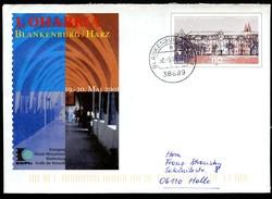 BUND USo27 Sonder-Umschlag KLOSTER MICHAELSTEIN BLANKENBURG Used 2001 - Klöster