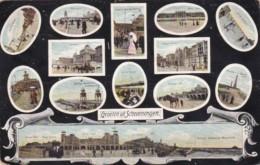 Netherlands Gruss Aus Scheveningen Multi Views 1906