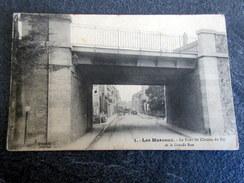 CPA - LES MUREAUX (78) - Le Pont Du Chemin De Fer Et La Grande Rue - 1917 - Les Mureaux