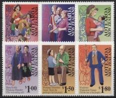 Neuseeland 1995 Erhaltung Der Maori-Sprache 1419/24 Postfrisch - Ungebraucht