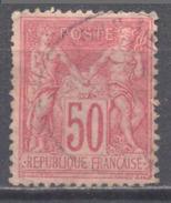 France YT N°98 Sage Type II Oblitéré ° - 1876-1898 Sage (Type II)