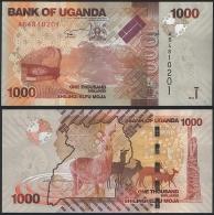 Uganda P 49 A - 1000 1.000 Shillings 2010 - UNC - Uganda