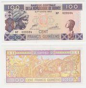 Guinea P 35 B - 100 Francs 2012 - UNC - Guinea