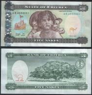 Eritrea P 2 - 5 Nakfa 24.5.1997 - UNC - Eritrea