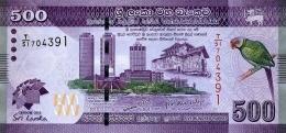 SRI LANKA 500 RUPEES 2013 P-129a UNC COMMEMORATIVE [ LK129a ] - Sri Lanka