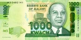 MALAWI 1000 KWACHA 2013 P-62b UNC [MW155b] - Malawi
