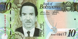 BOTSWANA 10 PULA 2009 P-30a UNC [BW124a] - Botswana
