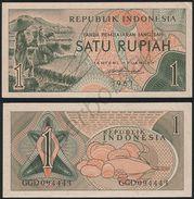 Indonesia P 78 - 1 Rupiah 1961 - UNC - Indonesia