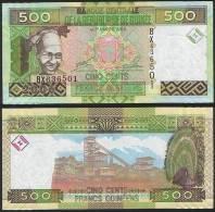 Guinea P 39 A - 500 Francs 2006 - UNC - Guinea