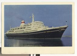 MS IVAN FRANKO Soviet Passenger Liner Ship Steamer - Dampfer