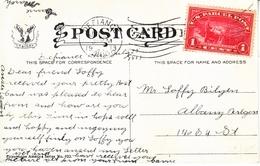 U.S.   Q 1 AS  POSTAGE  WHITE  HOUSE 1913 - Brieven En Documenten