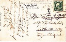 U.S.   U.S.S. NEBRASKA AT  VERA  CRUZ  1914 - Brieven En Documenten