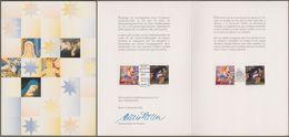 """Bund + Spanien: Minister Card - Ministerkarte Mi-Nr. 2226-27: """" Weihnachten """" Joint Issue Gemeinschaftsausgabe R X - Covers & Documents"""