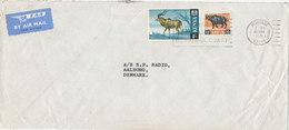 Kenya Cover Sent Air Mail To Denmark 10-3-1971 - Kenya (1963-...)
