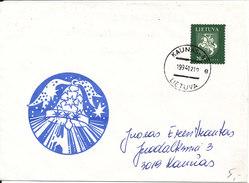 Lithuania Cover 10-12-1994 With Christmas Cachet - Lithuania