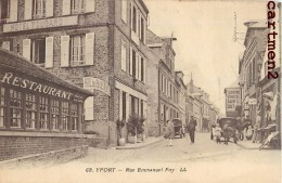 YPORT RUE EMMANUEL FOY RESTAURANT HOTEL 76 SEINE-MARITIME - Yport
