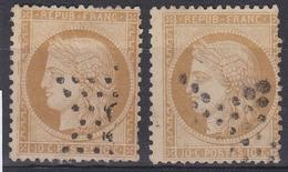 """France 1870 - N°36(o) - Lot De 2 Cérès """"siège De Paris"""" - 1870 Siege Of Paris"""