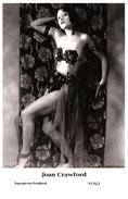 JOAN CRAWFORD - Film Star Pin Up PHOTO POSTCARD- Publisher Swiftsure 2000 (P276/1) - Cartoline
