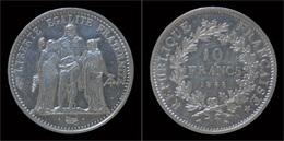 France 10 Francs 1968- Hercules - France