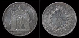 France 10 Francs 1965 - Hercules - France