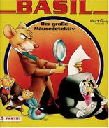 Panini Basil Sammelbilder-Album  -  Der Große Mäusedetektiv -  Mit 14 Bestückten Von 225 Bildern Fast Leer - Sammelbilderalben & Katalogue