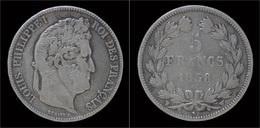 France Louis Philippe I 5 Francs 1838W - J. 5 Franchi