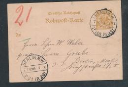 Rohrpost-Beleg   ( G5386 ) Siehe Foto - Briefe U. Dokumente