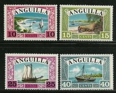 """Anguilla     """"Sailboats""""    Set    SC# 32-35    MNH** - Anguilla (1968-...)"""