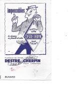DESTRE CHERPIN  Flanelle Coton - Vestiario & Tessile