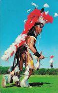 Indian In Full Dress - Carte Non Circulée - Indiens De L'Amerique Du Nord