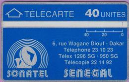 SENEGAL °° 40 Unités - Verso Inversé 205622340 ° LUXE