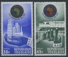 Togo : N° 615 Et 616 X Année 1969 - Togo (1960-...)