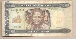 Eritrea - Banconota Circolata Da 20 Nafka - 1997 - Eritrea