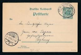 Bahnpost  Stempel -Beleg   (g6086  ) Siehe Foto - Allemagne