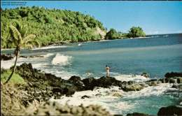 Lone Fisherman, Plum Pudding Rock, Apia - Samoa