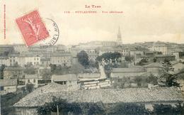 Tarn - Puylaurens - Vue Générale - Puylaurens